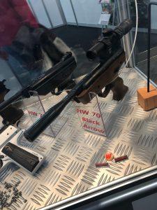 Luftpistole Weihrauch HW70 mit Zielfernrohr 2x20