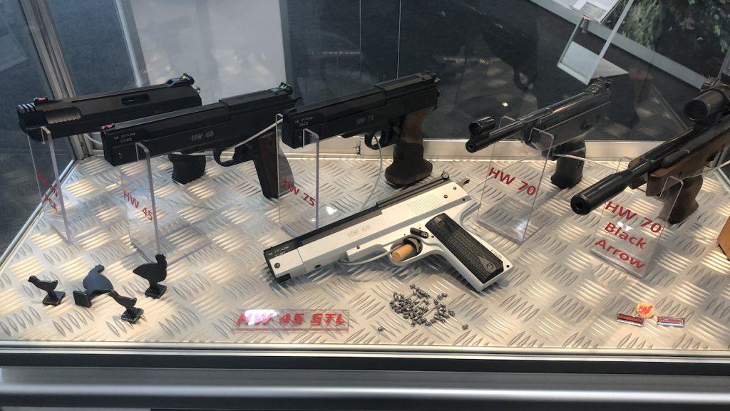 Waffen schuster weihrauch hw inkl integriertem