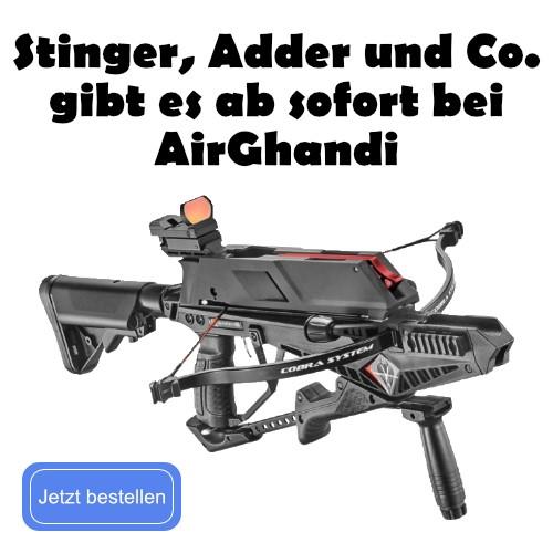 Banner Stinger, Adder und Co.